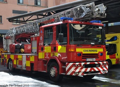 The ladder appliance placed on a 20 minute delay
