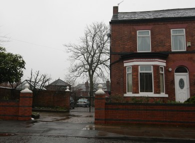 A general view of the home of Ilyas Ashar and his family in Manchester.