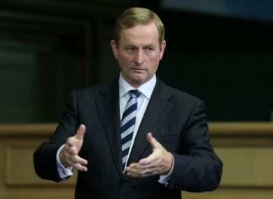 Enda kenny has four personal assistants.