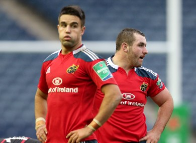 Conor Murray could be suspended for anything up to 52 weeks if found guilty of elbowing Niko Matawalu.