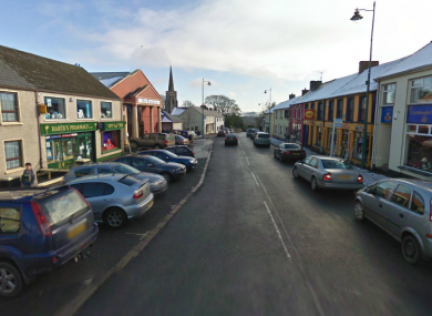 Main Street in Carrickmore, Omagh.