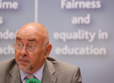 Minister for Education Ruairí Quinn