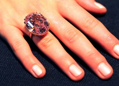 Getting Engaged This Pink Diamond Ring Is Being Auctioned