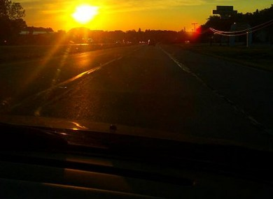 Driving Into Light And Into Sky >> Council Warns Of The Dangers Of Driving Off Into The Sunset