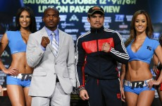 Shadow of Pacquiao looms over Bradley and Marquez