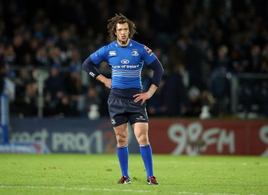 Zane Kirchner made his Leinster debut at the weekend.