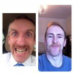 How -- HOW? -- has Mayo footballer Tom Cunniffe got his mo so symmetrical?