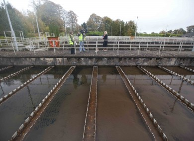The water treatment plant at Ballymore Eustace