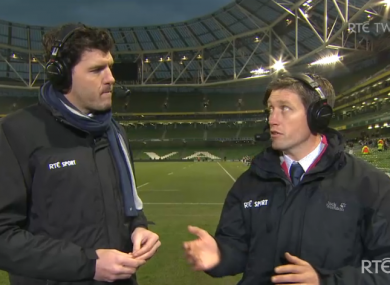 Shane Horgan and Ronan O'Gara give their opinion on Ireland's 24-22 defeat.