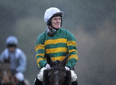 McCoy: only booked for one ride at Chepstow today.