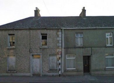Houses on Vicar Street in Kilkenny