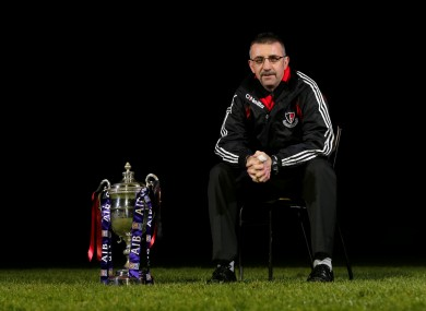 Oulart-the-Ballagh manager Martin Storey.