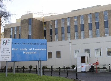 Our Lady of Lourdes Hospital in Drogheda where Dr Michael Neary worked.