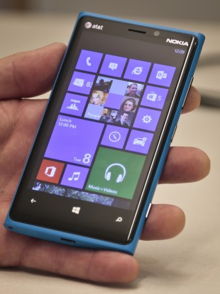 The Nokia Lumia range makes up the majority of Windows Phones in the market.