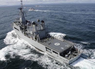 Irish Naval Service vessel
