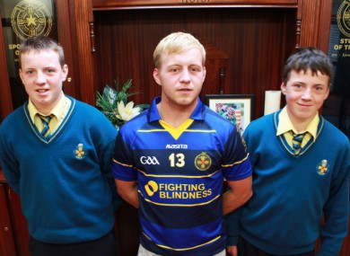 (Left to right) Conor, Peter and Denis Ryan.