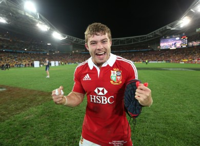 Leigh Halfpenny was Man of the Series as the Lions triumphed in Australia.