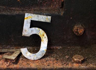 5 at 5