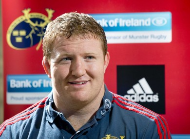Archer could win his 60th Munster cap on Friday.
