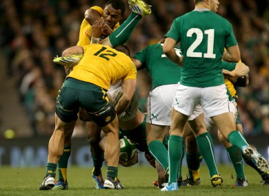 The tackle for which Kuridrani has be