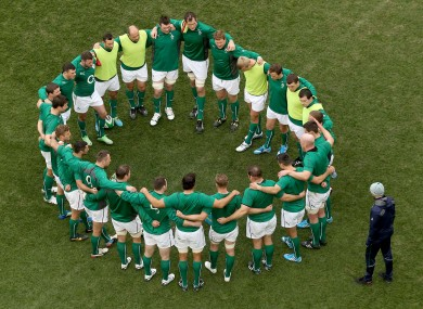 Ireland need a unified belief that they can win.