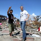 GOAL's James Kelly surveys the devastation  on the Island of Leyte.<span class=
