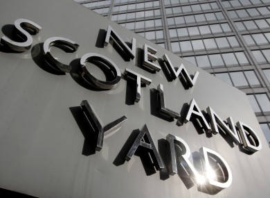 New Scotland Yard, the headquarters of the Metropolitan Police.
