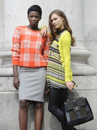Models wearing clothes from a Penneys collection.