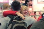 Watch families reunite for Christmas at Dublin Airport