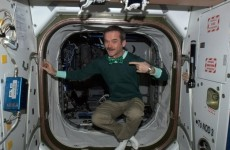 Hello, commander: Chris Hadfield is in Dublin today