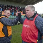 The duo had been joint managers of Leitrim but were beaten in the race to be in charge for 2014 by Sean Hagan.<span class=