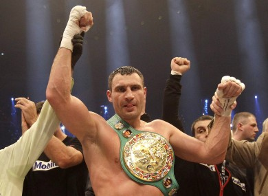 Vitali Klitschko (file photo).