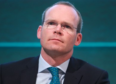 Minister Simon Coveney.
