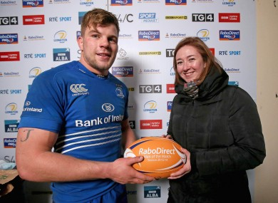 Jordi Murphy was man of the match at the RDS.