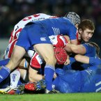 This image sums up Ulster's helplessness at the RDS<span class=
