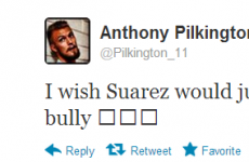 'I wish Suarez would leave us alone!! Big bully' – Pilkington
