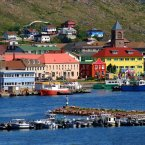 Fly to Saint Pierre et Miquelon, an island off the coast of Canada that is the last vestige of French control in North America. The colorful islands' inhabitants all speak French, and its towns are a wonderful mash-up of French and Canadian culture.<span class=