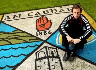 Johnston: was one of Cavan's star names before leaving in 2012.