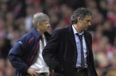 Mourinho talks up Arsenal title charge