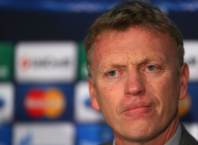 David Moyes has accepted that recent Man United performances have not been good enough.