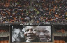US network plays Toto's Africa over Mandela memorial footage