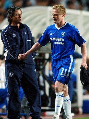 Mourinho oversaw arguably the most successful season of Duff's career.