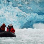 Marvel at the glaciers of Svalbard, an archipelago between Norway and the North Pole. Its whaling and fishing villages have become major tourist destinations for foreigners to see polar bears, reindeer, and marine mammals.<span class=