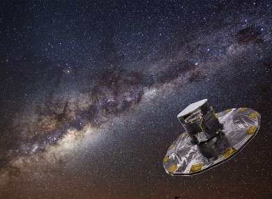 GAIA mapping the Milky Way