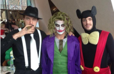 Newcastle celebrate Man Utd scalp with Xmas fancy dress party in Dublin