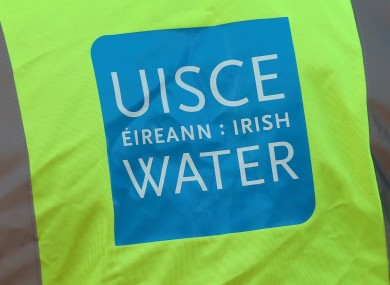 An Irish Water high-vis jacket.