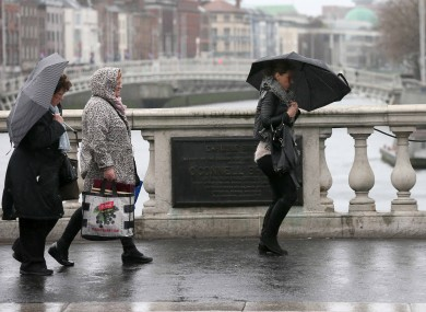 High winds and rain hit the country last weekend and this week