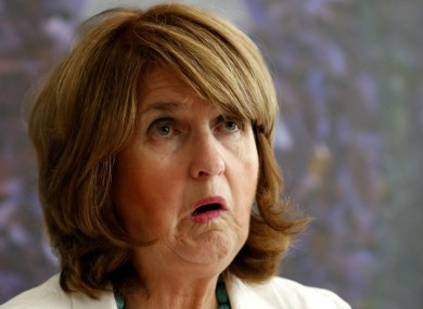 Minister for Social Protection Joan Burton, who probably smells very nice.
