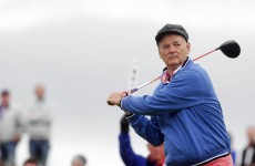 """Bill Murray says Ireland is the """"most beautiful country to play golf in"""""""