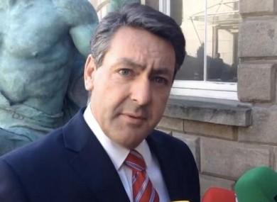 Fianna Fáil health spokesperson Billy Kelleher